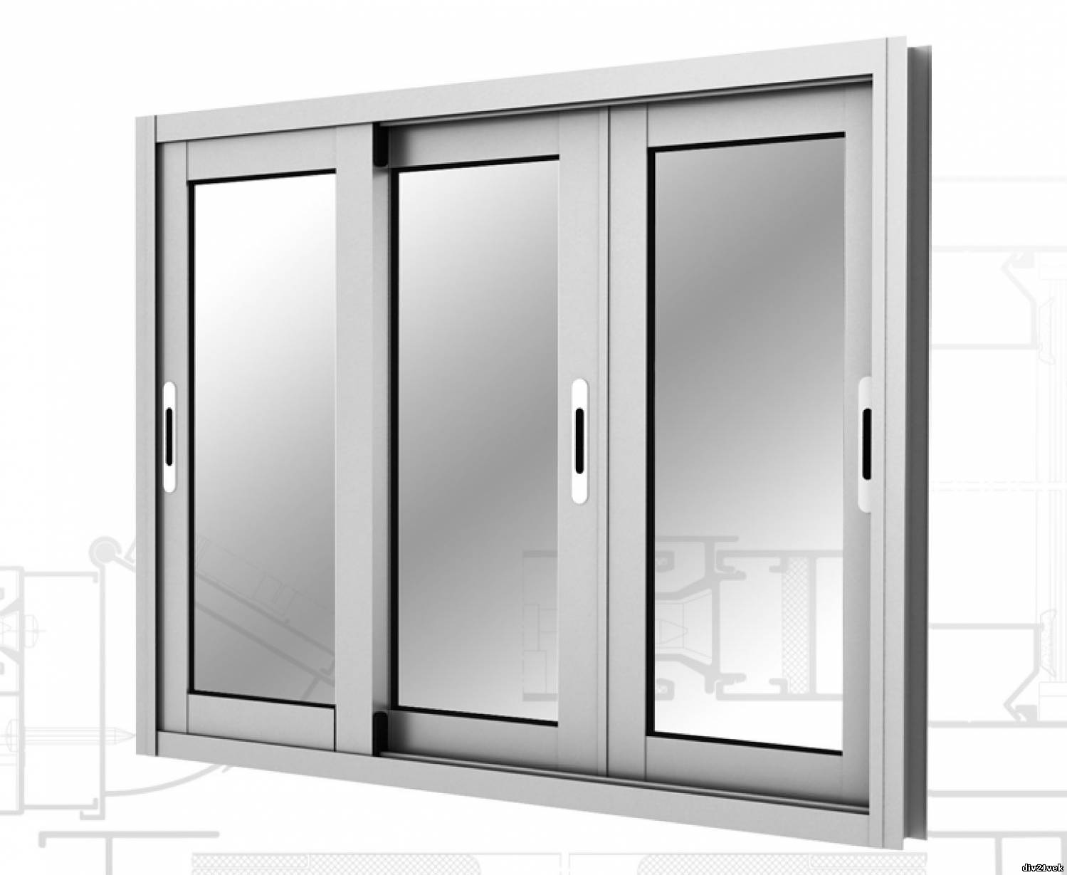 Балконные раздвижные системы из алюминиевого профиля радиусн.